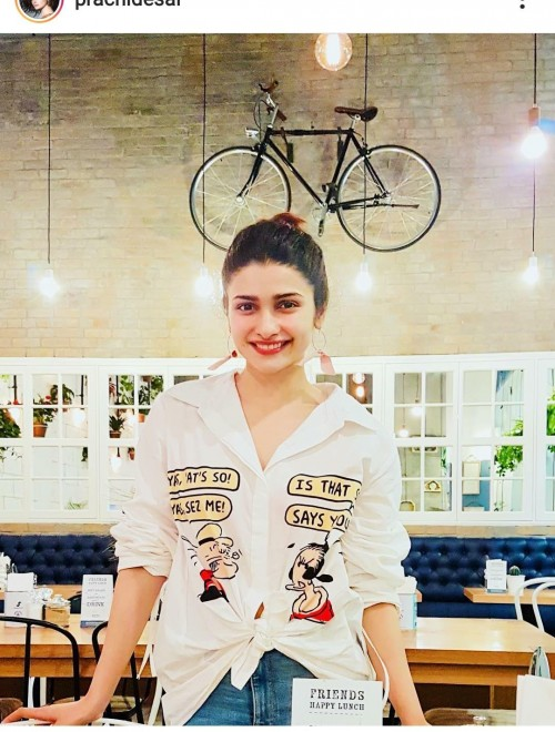 I'm looking for same shirt which prachi desai wore - SeenIt