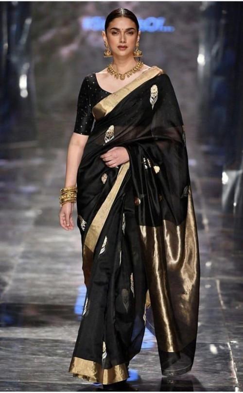 Looking for a similar Banarasi saree worn by Aditi Rao Hydari - SeenIt
