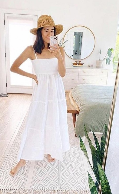 Want that casual white breezy dress please - SeenIt