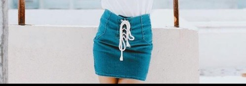 Looking for exact same denim skirt. Can anyone tell me where to find it? - SeenIt