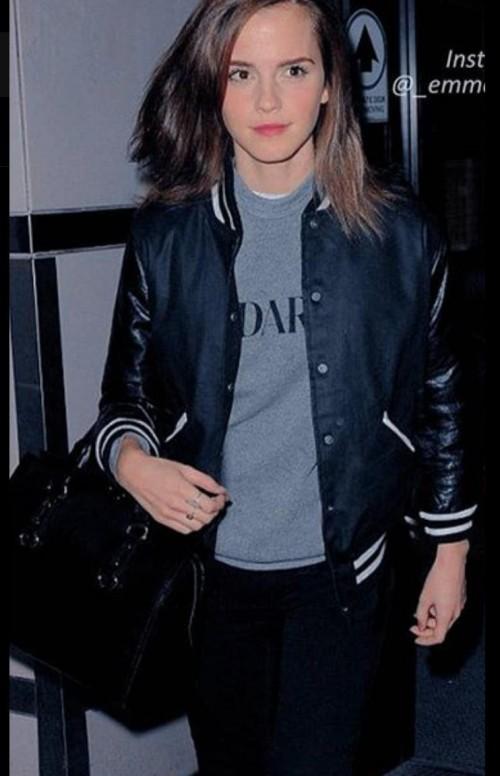 same jacket and top as emma watson - SeenIt