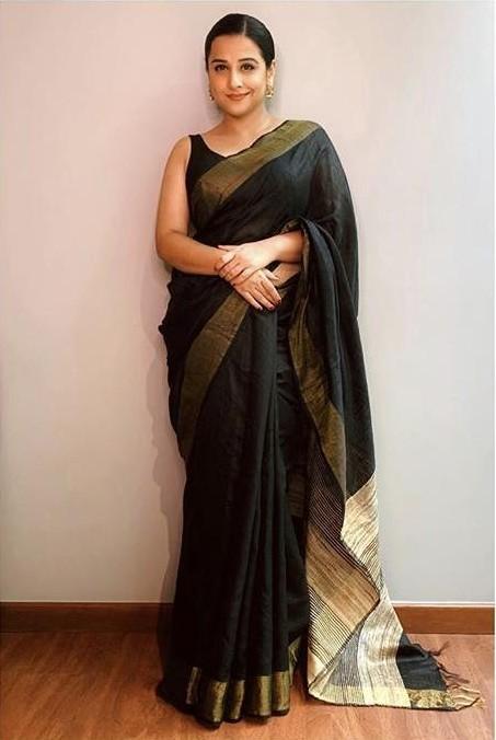 Shop colours, shakuntaladevi, vidyabalan, outfit, saree on SeenIt ...