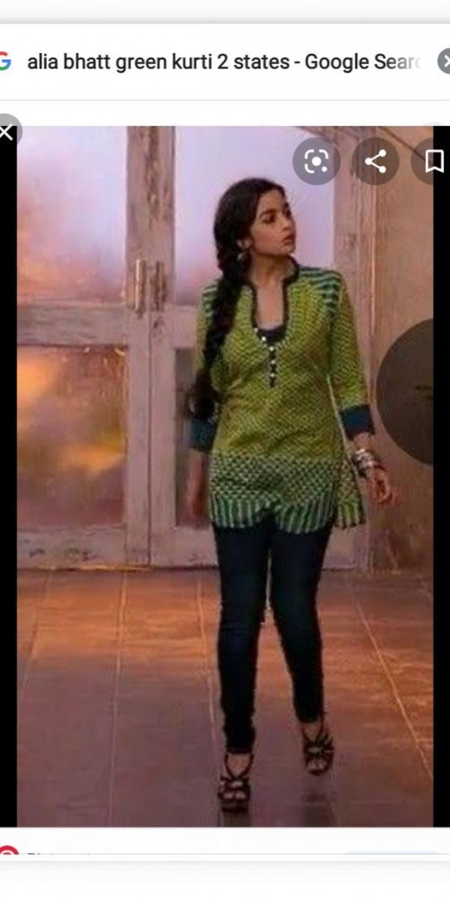 I am looking for green kurti - SeenIt