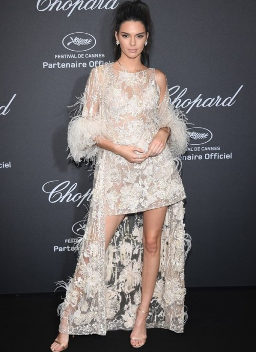 Kendall Jenner at the Chopard Wild Party. - SeenIt