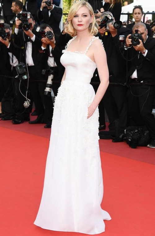Kirsten Dunst at the Loving premiere at Cannes 2016. - SeenIt