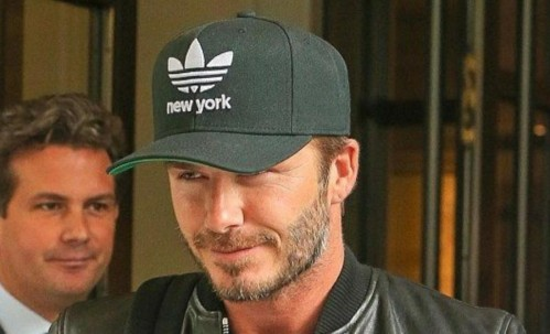 want this cap which david beckham is wearing - SeenIt