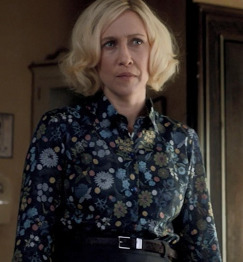 I am looking for the same floral button down shirt worn by norma bates in bates motel played by vera farmiga - SeenIt
