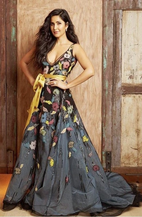Yay or nay? Katrina Kaif seen wearing a Reemacra gown at the Zee cine awards - SeenIt