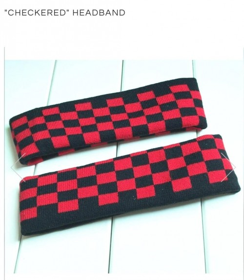 find me the same black and red headband - SeenIt
