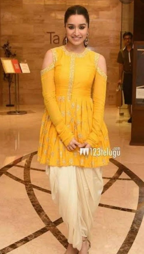 looking for exact dress like shraddha kapoor same colour  - SeenIt