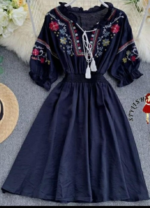 looking for this dark blue frock...... - SeenIt