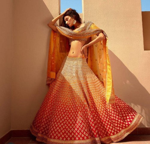 Yay or nay? Athiya Shetty wearing a Frontier Raas outfit for the Khushi magazine shoot - SeenIt