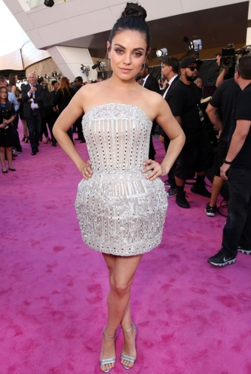 To the BBMAs Mila Kunis opted for a Zuhair Murad mini dress. Yay or Nay?? - SeenIt