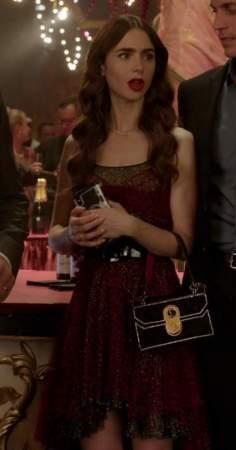Help me find a similar dress online like emily is wearing in emily in paris - SeenIt