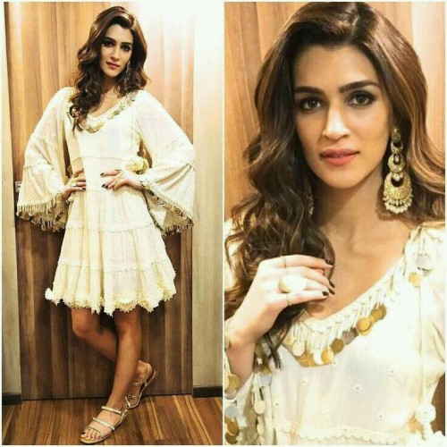 I'm looking for this exact white dress with sequins (styled by Surily Goel-@surilyG) - SeenIt