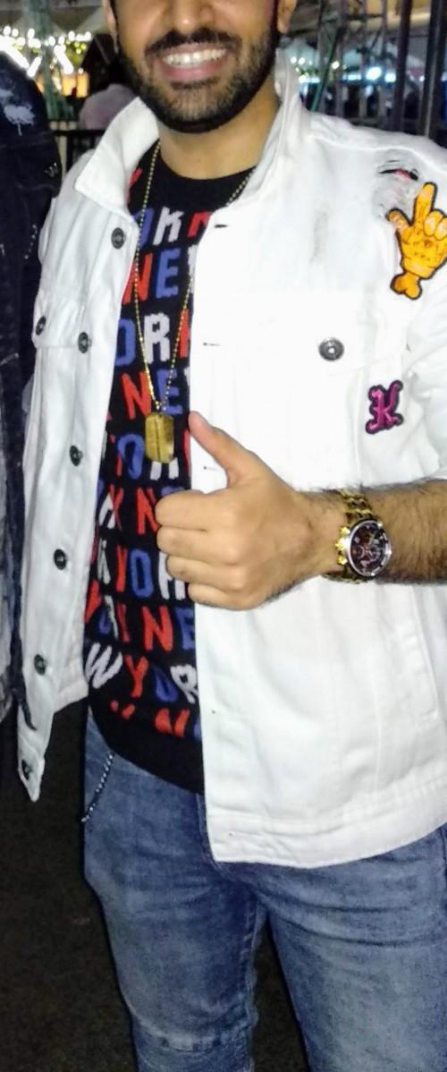 Want the White distorted denim jacket. - SeenIt