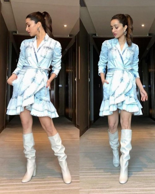 I'm looking for this beautiful outfit and the boots that shraddha kapoor wore plzzzzzzzzzzzzzzzz - SeenIt