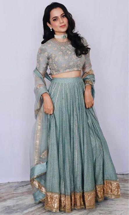 Looking for a similar outfit online like Kangana Ranaut is seen wearing - SeenIt
