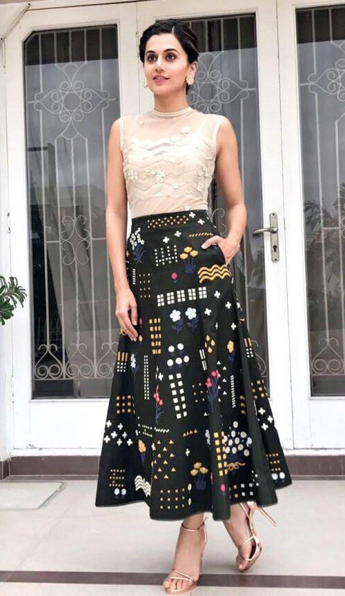 Help me find a similar dress like Taapsee Pannu wearing - SeenIt