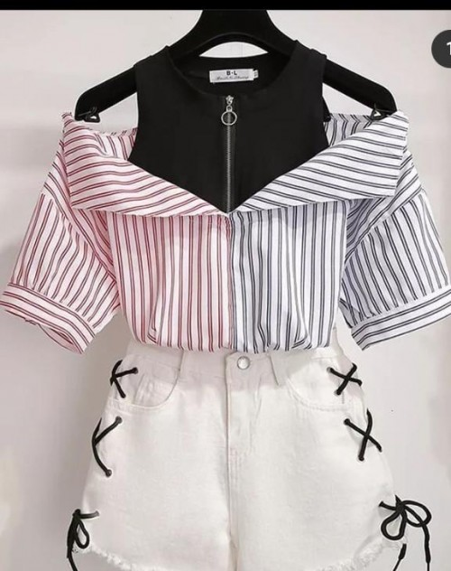 Want the same top and hot pant...Please help me find the same i  the picture - SeenIt
