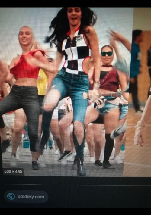 Im looking for the same to same attire as ananya the jeans, the bodysuit with black and white design on the bodysuit with cut on the sides - SeenIt