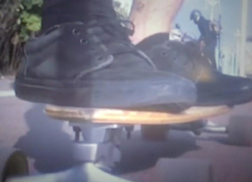 same shoes as in japanese house - cool blue music video - SeenIt