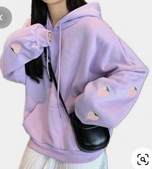 Looking fir exactly purplle hoodie plzz help - SeenIt
