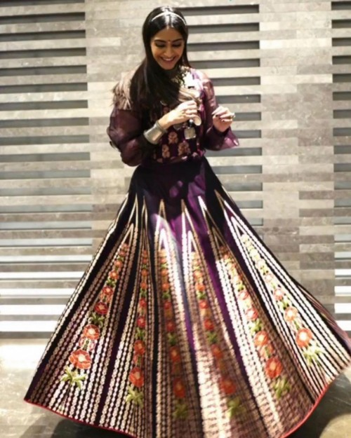 Looking for a similar outfit online like Sonam Kapoor is seen wearing on diwali - SeenIt