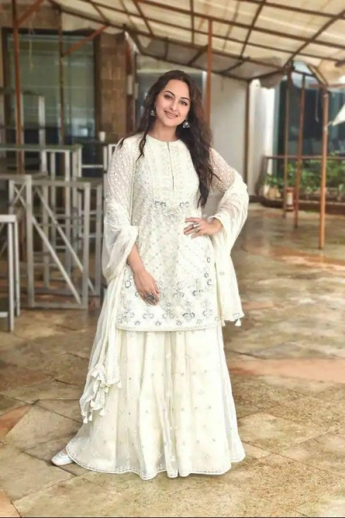 Looking for a similar outfit online like Sonakshi sinha  is seen wearing - SeenIt