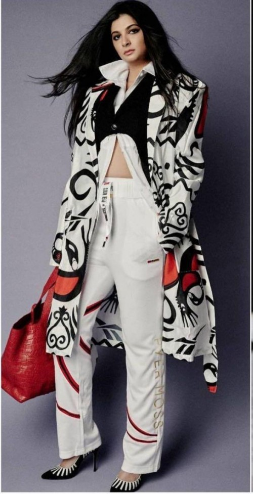 Yay or nay? Rhea Kapoor seen wearing a Reebok designer cape outfit - SeenIt