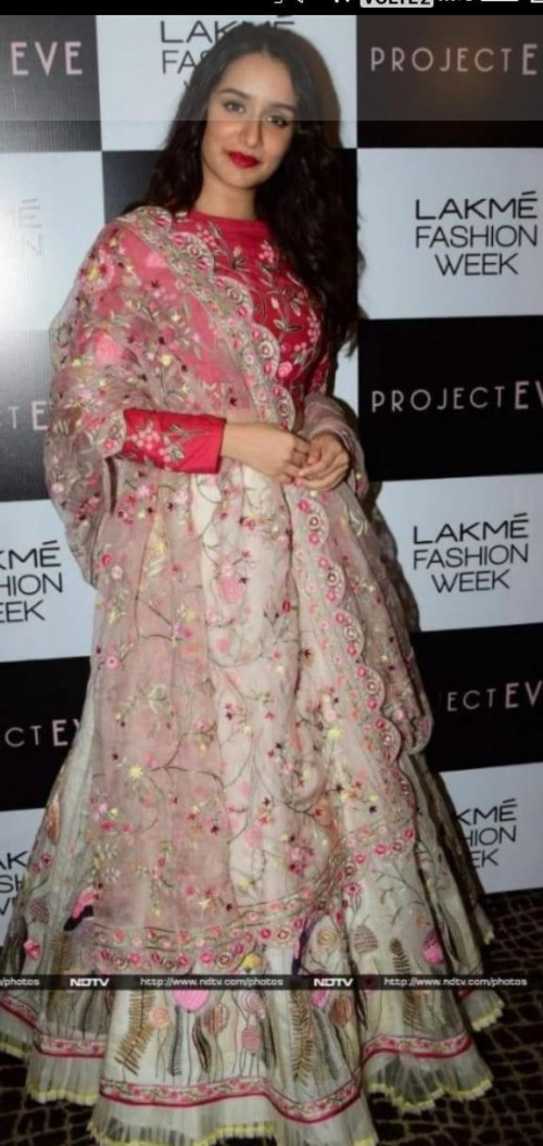 looking for this beautiful lehanga which shraddha kapoor is wearing - SeenIt