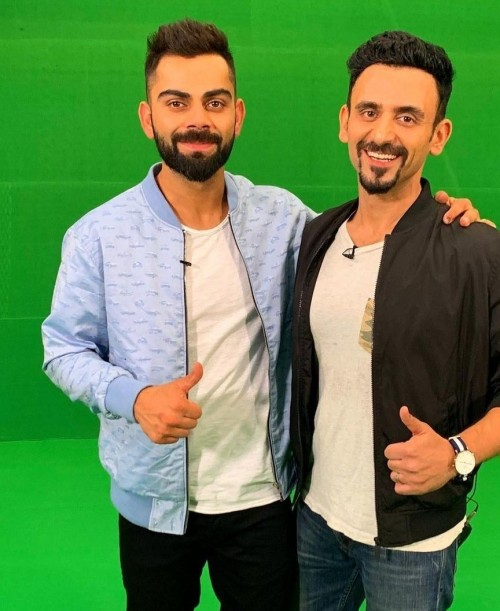 I am looking for this jacket wear by Virat Kohli - SeenIt