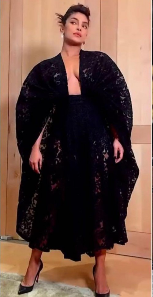 Yay or nay? Priyanka Chopra seen wearing an Emilia Wickstead outfit recently - SeenIt