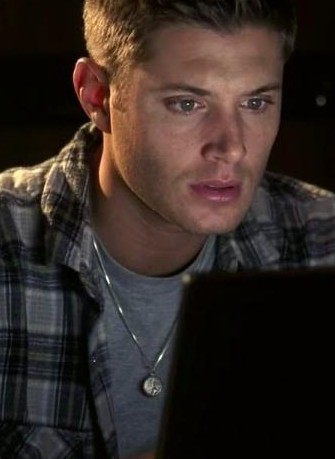 Looking for the necklace Dean wears in Season 2 Episode 20