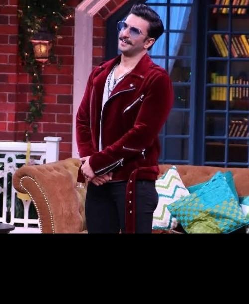 want. this. Red velvet jacket - SeenIt