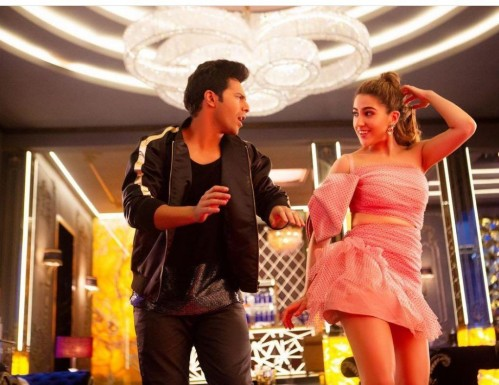 Varun dhawan's bomber jacket from the song in Coolienumber1 - SeenIt
