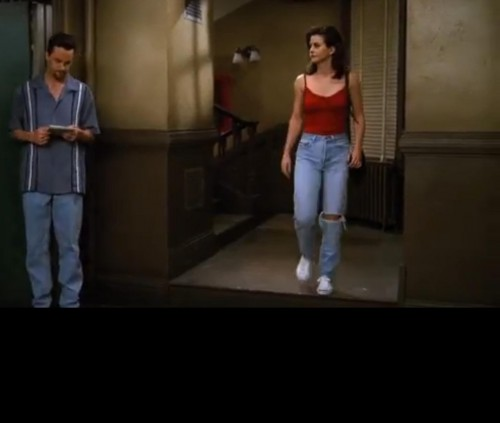 Looking for same pants like monica - SeenIt