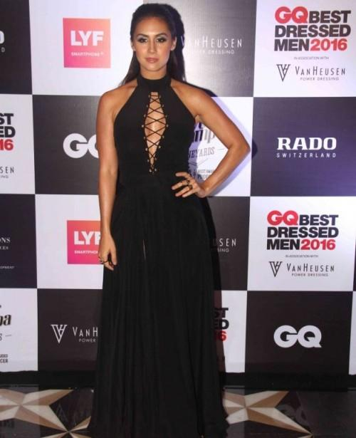Lauren Gottlieb looked hot in 'Deme By Gabriella' black outfit paired with Louboutin shoes. - SeenIt