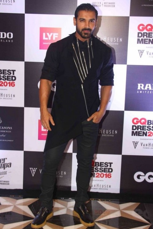 John Abraham wearing Gaurav Gupta was seen in a very different style and must say he nailed it. - SeenIt