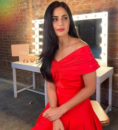 Help me find a simular red dress online like Katrina Kaif is wearing - SeenIt