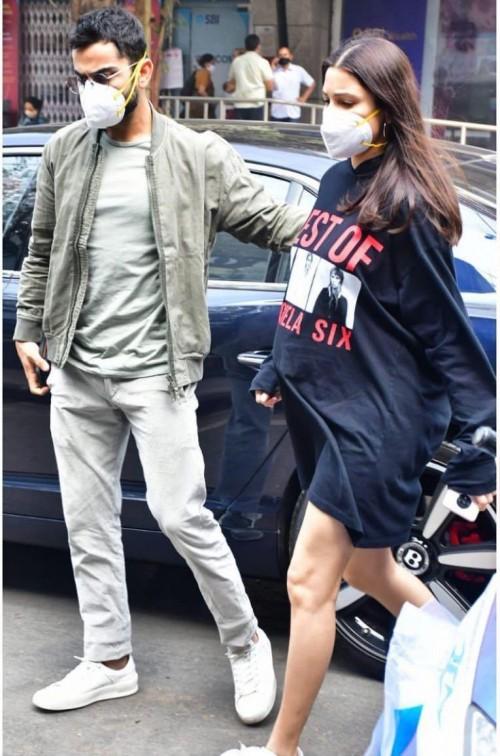 Looking for a similar dress like Anushka Sharma is seen wearing - SeenIt