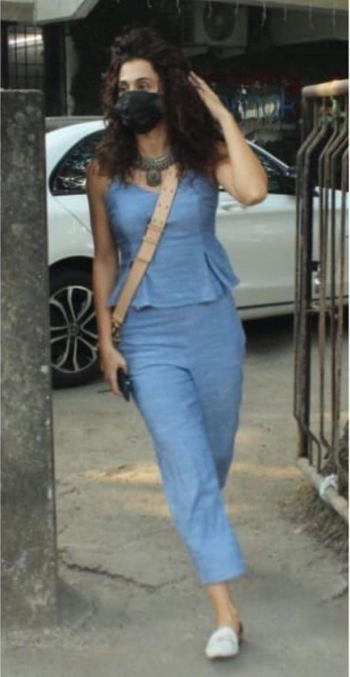 Looking for a similar outfit online like Taapsee Pannu is seen wearing - SeenIt