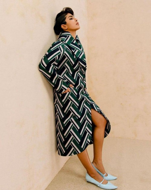 Yay or nay? Priyanka Chopra seen wearinga  chevron print outfit recently - SeenIt