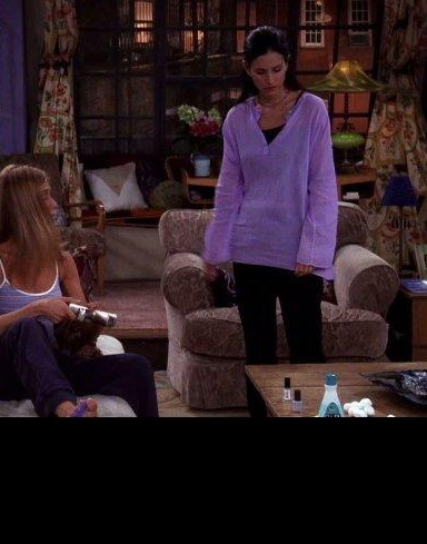 I'm looking for Monica's shirt. S06E02 - SeenIt