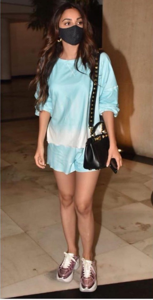 Yay or nay? Kiara Advani seen wearing a blue coord outfit recently - SeenIt