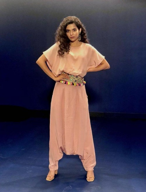 Yay or nay? Mithila Palkar seen wearing a Payal Singhal outfit at the promotions of Tribhanga - SeenIt