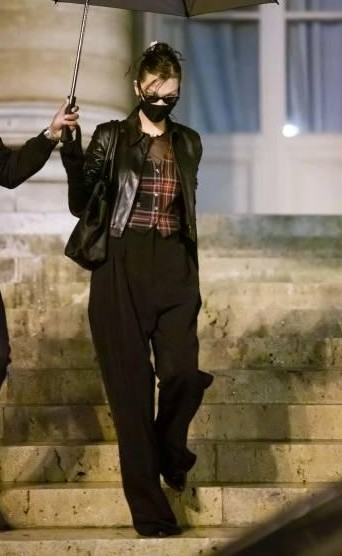 Yay or nay? Bella Hadid is seen after the Fendi show during Paris Fashion Week - SeenIt