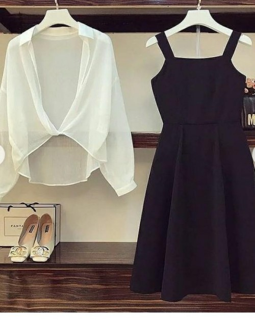 this type of dress and shrug - SeenIt