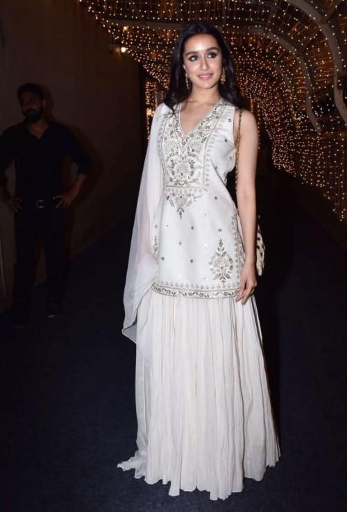 Shradhhq Kapoor's white sharara skirt set please - SeenIt