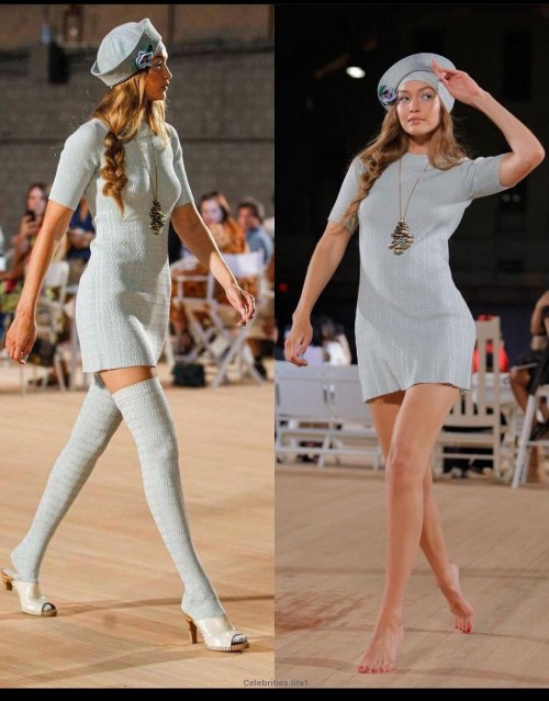 same dress and hat - SeenIt